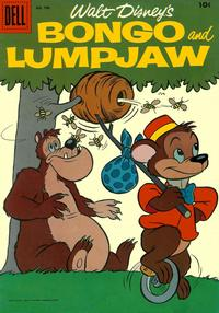 Cover Thumbnail for Four Color (Dell, 1942 series) #706 - Walt Disney's Bongo and Lumpjaw