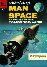 Cover Thumbnail for Four Color (Dell, 1942 series) #716 - Walt Disney's Man in Space [10cent Cover]