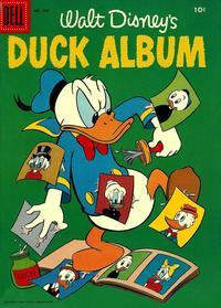 Cover Thumbnail for Four Color (Dell, 1942 series) #726 - Walt Disney's Duck Album