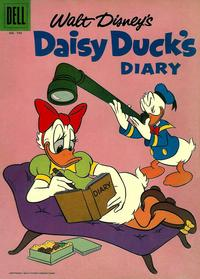Cover Thumbnail for Four Color (Dell, 1942 series) #743 - Walt Disney's Daisy Duck's Diary