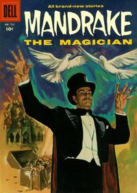 Cover Thumbnail for Four Color (Dell, 1942 series) #752 - Mandrake, the Magician