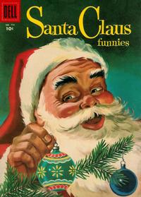Cover Thumbnail for Four Color (Dell, 1942 series) #756 - Santa Claus Funnies