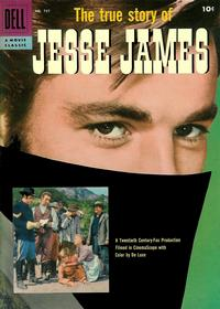 Cover for Four Color (Dell, 1942 series) #757 - The True Story of Jesse James