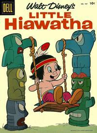 Cover Thumbnail for Four Color (Dell, 1942 series) #787 - Walt Disney's Little Hiawatha