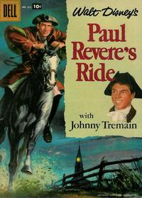 Cover Thumbnail for Four Color (Dell, 1942 series) #822 - Walt Disney's Paul Revere's Ride