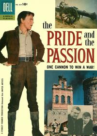 Cover for Four Color (Dell, 1942 series) #824 - The Pride and the Passion
