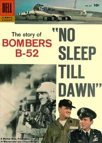 Cover Thumbnail for Four Color (Dell, 1942 series) #831 - No Sleep Till Dawn: The Story of Bombers B-52