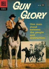 Cover Thumbnail for Four Color (Dell, 1942 series) #846 - Gun Glory