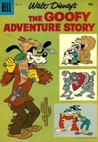 Cover Thumbnail for Four Color (Dell, 1942 series) #857 - Walt Disney's The Goofy Adventure Story