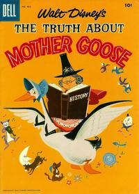 Cover Thumbnail for Four Color (Dell, 1942 series) #862 - Walt Disney's The Truth about Mother Goose