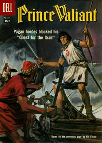 Cover Thumbnail for Four Color (Dell, 1942 series) #849 - Prince Valiant