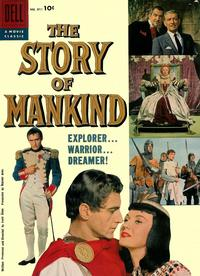 Cover Thumbnail for Four Color (Dell, 1942 series) #851 - The Story of Mankind