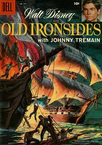 Cover Thumbnail for Four Color (Dell, 1942 series) #874 - Walt Disney's Old Ironsides