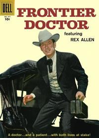 Cover for Four Color (Dell, 1942 series) #877 - Frontier Doctor