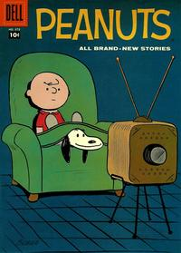 Cover Thumbnail for Four Color (Dell, 1942 series) #878 - Peanuts