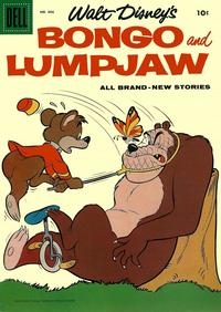 Cover Thumbnail for Four Color (Dell, 1942 series) #886 - Walt Disney's Bongo and Lumpjaw