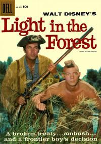 Cover Thumbnail for Four Color (Dell, 1942 series) #891 - Walt Disney's Light in the Forest
