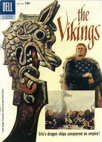 Cover for Four Color (Dell, 1942 series) #910 - The Vikings