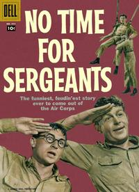 Cover Thumbnail for Four Color (Dell, 1942 series) #914 - No Time for Sergeants