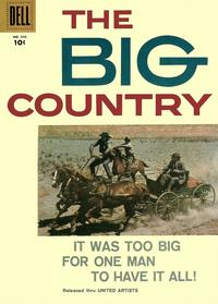 Cover for Four Color (Dell, 1942 series) #946 - The Big Country