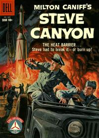 Cover Thumbnail for Four Color (Dell, 1942 series) #939 - Milton Caniff's Steve Canyon