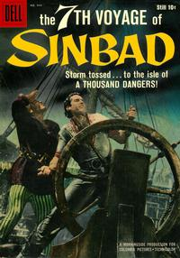 Cover Thumbnail for Four Color (Dell, 1942 series) #944 - The 7th Voyage of Sinbad