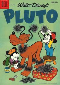 Cover Thumbnail for Four Color (Dell, 1942 series) #941 - Walt Disney's Pluto