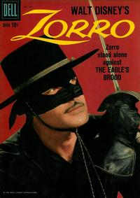 Cover Thumbnail for Four Color (Dell, 1942 series) #960 - Walt Disney's Zorro