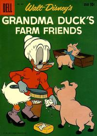 Cover Thumbnail for Four Color (Dell, 1942 series) #965 - Walt Disney's Grandma Duck's Farm Friends