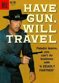 Cover Thumbnail for Four Color (Dell, 1942 series) #983 - Have Gun, Will Travel