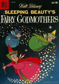 Cover Thumbnail for Four Color (Dell, 1942 series) #984 - Walt Disney Sleeping Beauty's Fairy Godmothers