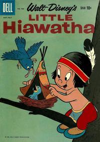 Cover for Four Color (Dell, 1942 series) #988 - Walt Disney's Little Hiawatha