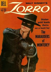 Cover Thumbnail for Four Color (Dell, 1942 series) #1003 - Walt Disney's Zorro