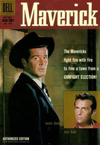 Cover Thumbnail for Four Color (Dell, 1942 series) #1005 - Maverick