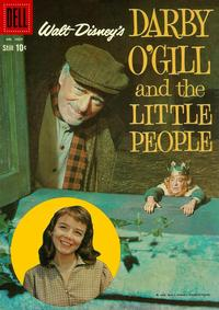 Cover Thumbnail for Four Color (Dell, 1942 series) #1024 - Walt Disney's Darby O'Gill and the Little People