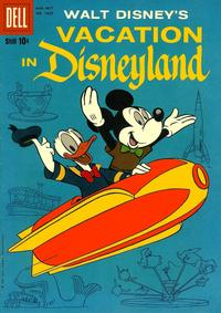 Cover Thumbnail for Four Color (Dell, 1942 series) #1025 - Walt Disney's Vacation in Disneyland