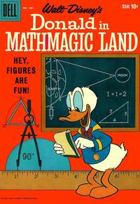 Cover Thumbnail for Four Color (Dell, 1942 series) #1051 - Walt Disney's Donald in Mathmagic Land