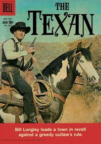 Cover Thumbnail for Four Color (Dell, 1942 series) #1027 - The Texan