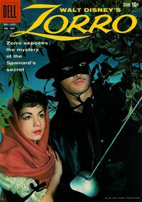 Cover Thumbnail for Four Color (Dell, 1942 series) #1037 - Walt Disney's Zorro