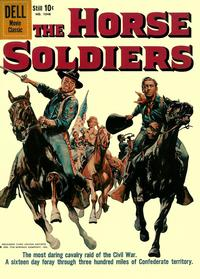 Cover Thumbnail for Four Color (Dell, 1942 series) #1048 - The Horse Soldiers