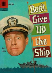 Cover for Four Color (Dell, 1942 series) #1049 - Don't Give Up the Ship