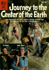 Cover Thumbnail for Four Color (Dell, 1942 series) #1060 - Journey to the Center of the Earth