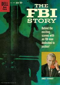 Cover Thumbnail for Four Color (Dell, 1942 series) #1069 - The FBI Story