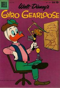 Cover for Four Color (Dell, 1942 series) #1095 - Walt Disney's Gyro Gearloose