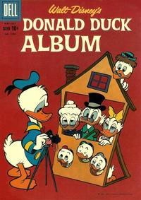 Cover Thumbnail for Four Color (Dell, 1942 series) #1099 - Walt Disney's Donald Duck Album