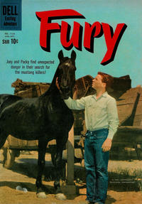 Cover Thumbnail for Four Color (Dell, 1942 series) #1133 - Fury