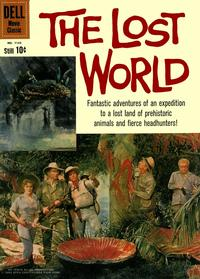 Cover Thumbnail for Four Color (Dell, 1942 series) #1145 - The Lost World