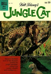 Cover Thumbnail for Four Color (Dell, 1942 series) #1136 - Walt Disney's Jungle Cat
