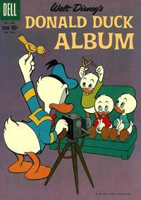 Cover Thumbnail for Four Color (Dell, 1942 series) #1140 - Walt Disney's Donald Duck Album