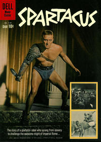 Cover Thumbnail for Four Color (Dell, 1942 series) #1139 - Spartacus